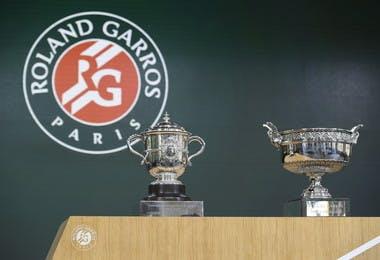 Trophées Roland-Garros trophies