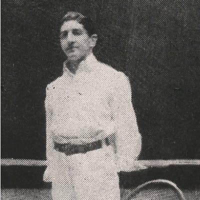 Marcel Vacherot Roland-Garros 1902.
