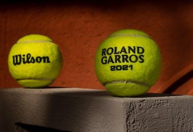 Balles Wilson Roland-Garros 2021