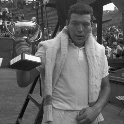 Nicolas Pietrangeli Roland-Garros 1960.