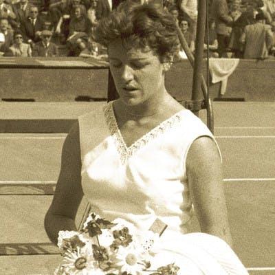 Margaret Court Roland-Garros 1962.