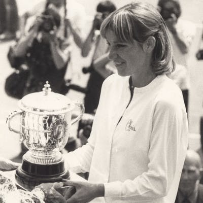 Chris Evert Roland-Garros 1979.