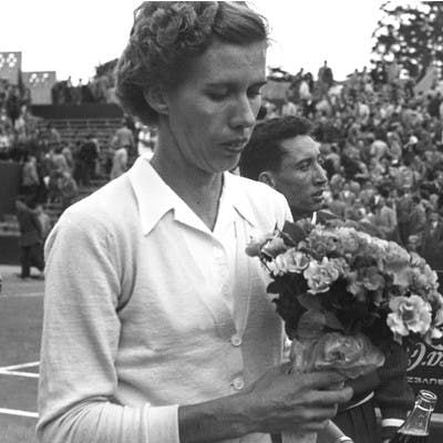Doris Hart Roland-Garros 1953.