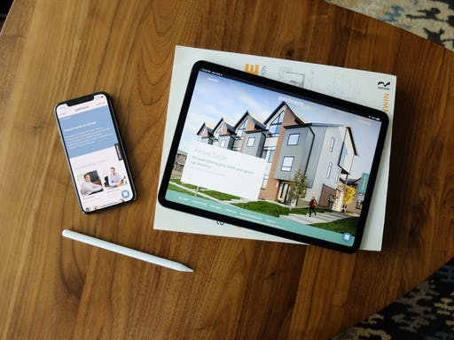 Partners website on iPhone and iPad
