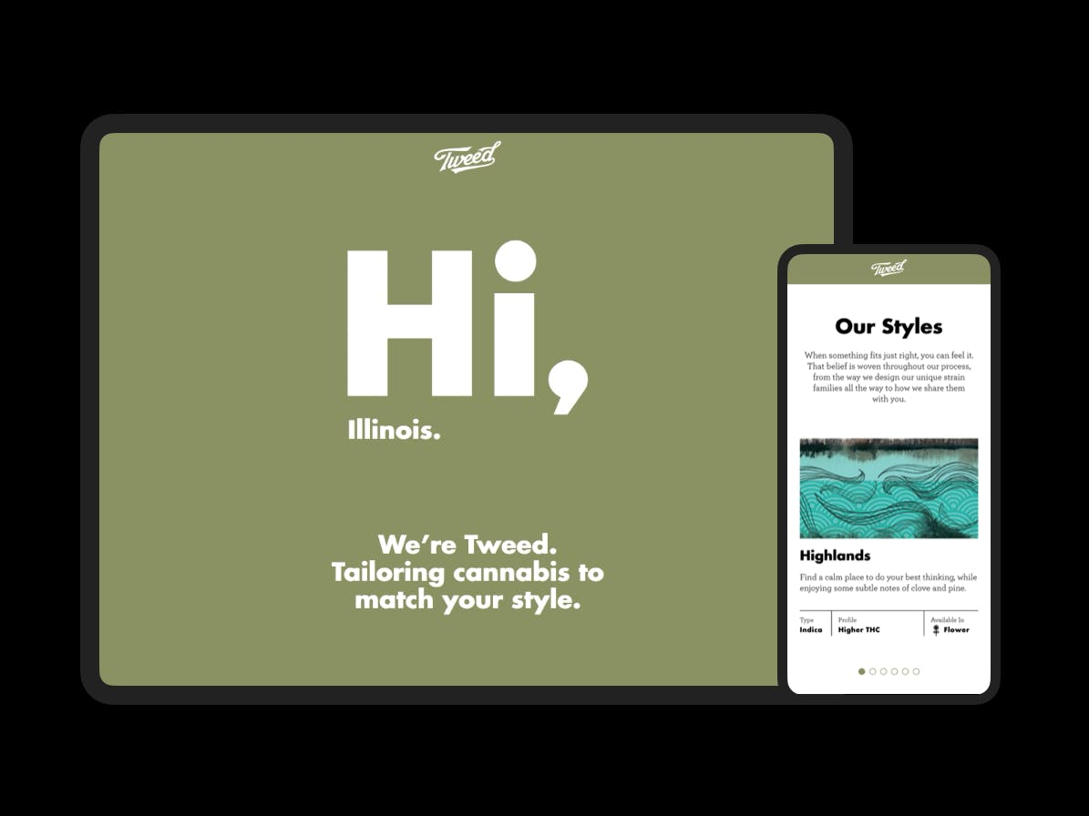 Tweed homepage