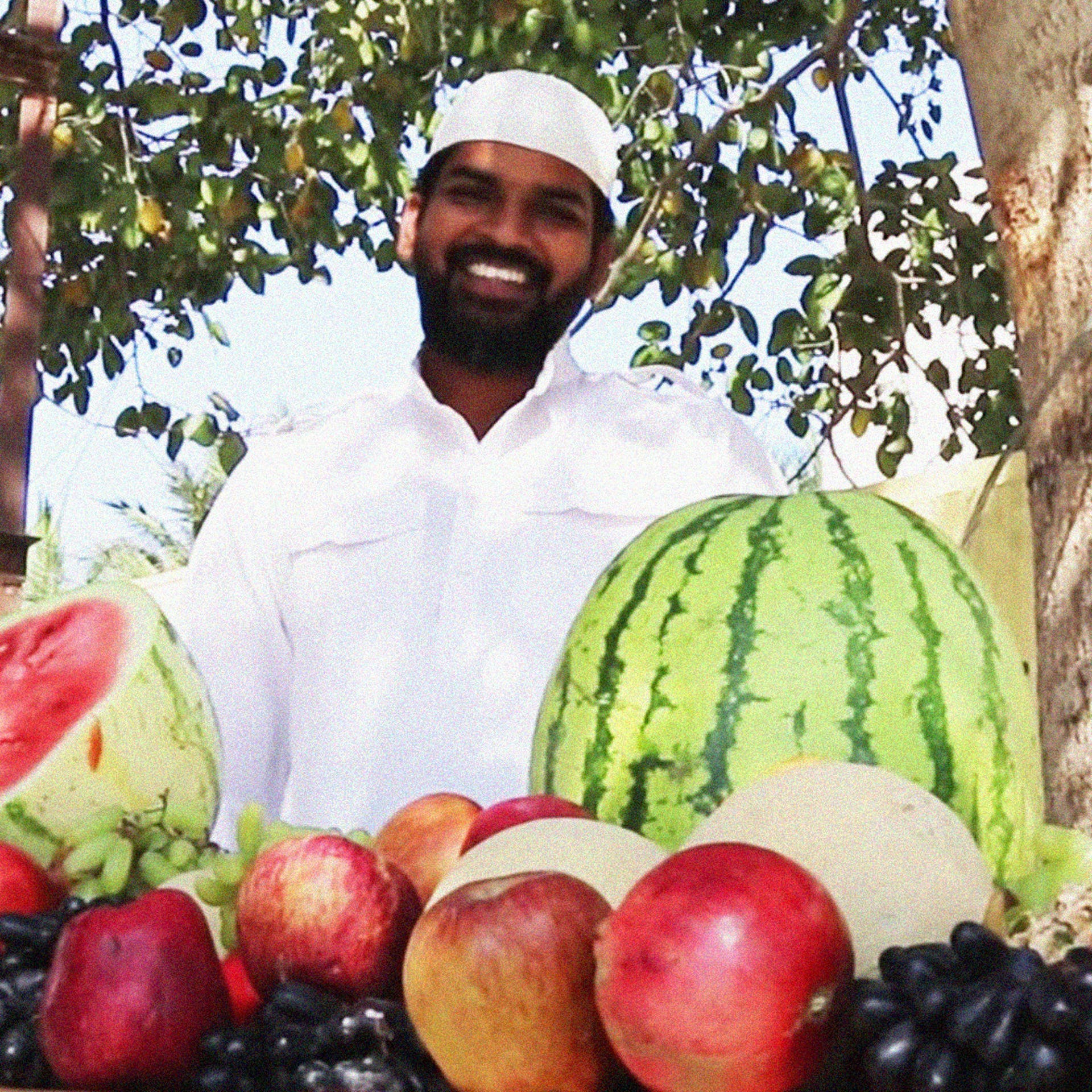 Khwaja Moinuddin's fruit custard video has almost 1.4 million views on YouTube.
