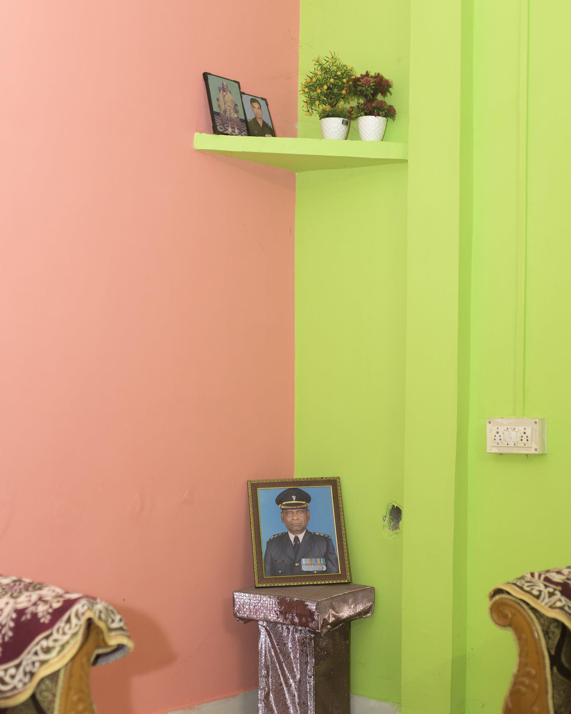 A corner of Mohammed Sanaullah's residence in Satgaon, Guwahati. Picture credit: Prakash Bhuyan.