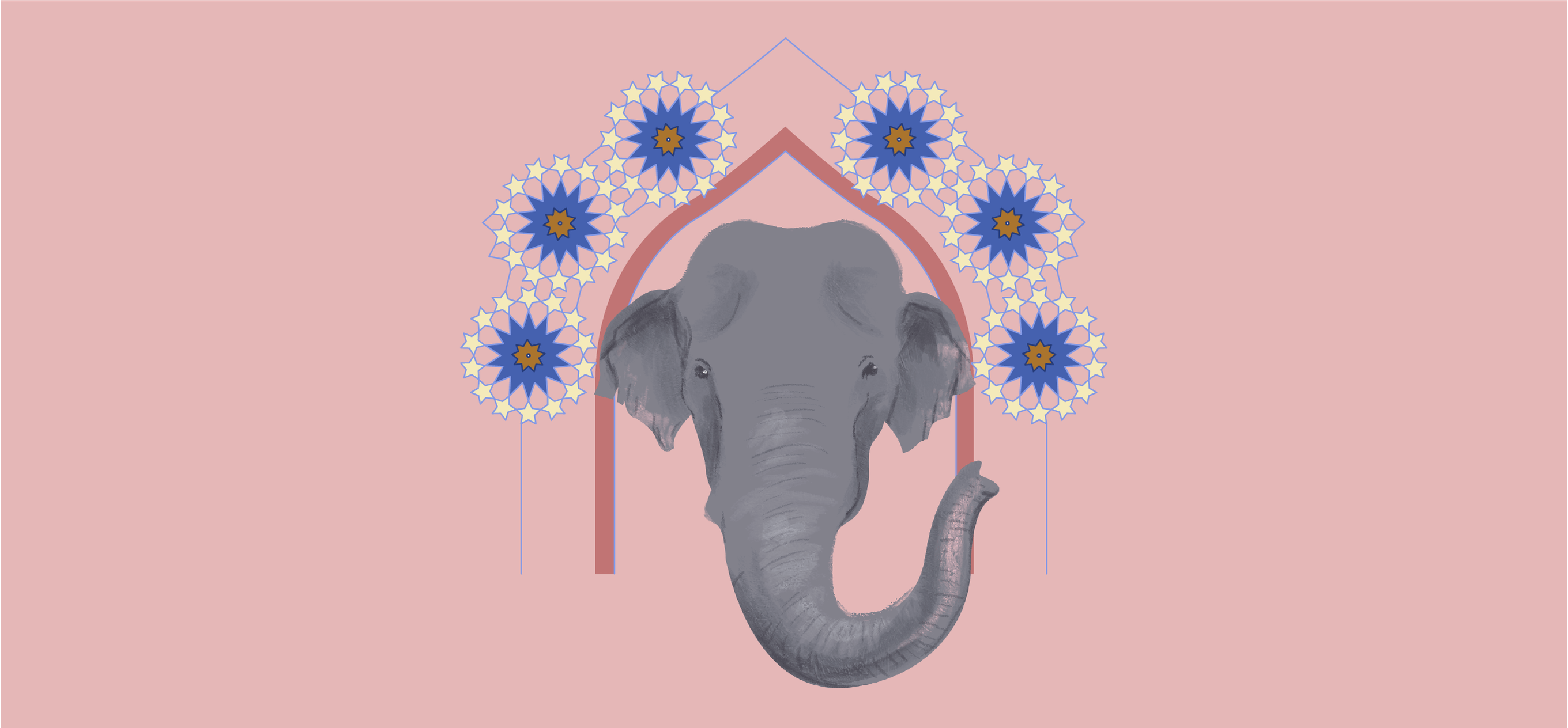 Hathi by Supriya Roychoudhury; Illustration by Akshaya Zachariah for FiftyTwo.in