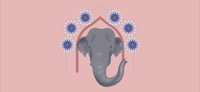 Hathi by Supriya Roychoudhury; Illustration by Akshaya Zachariah for FiftyTwo.in