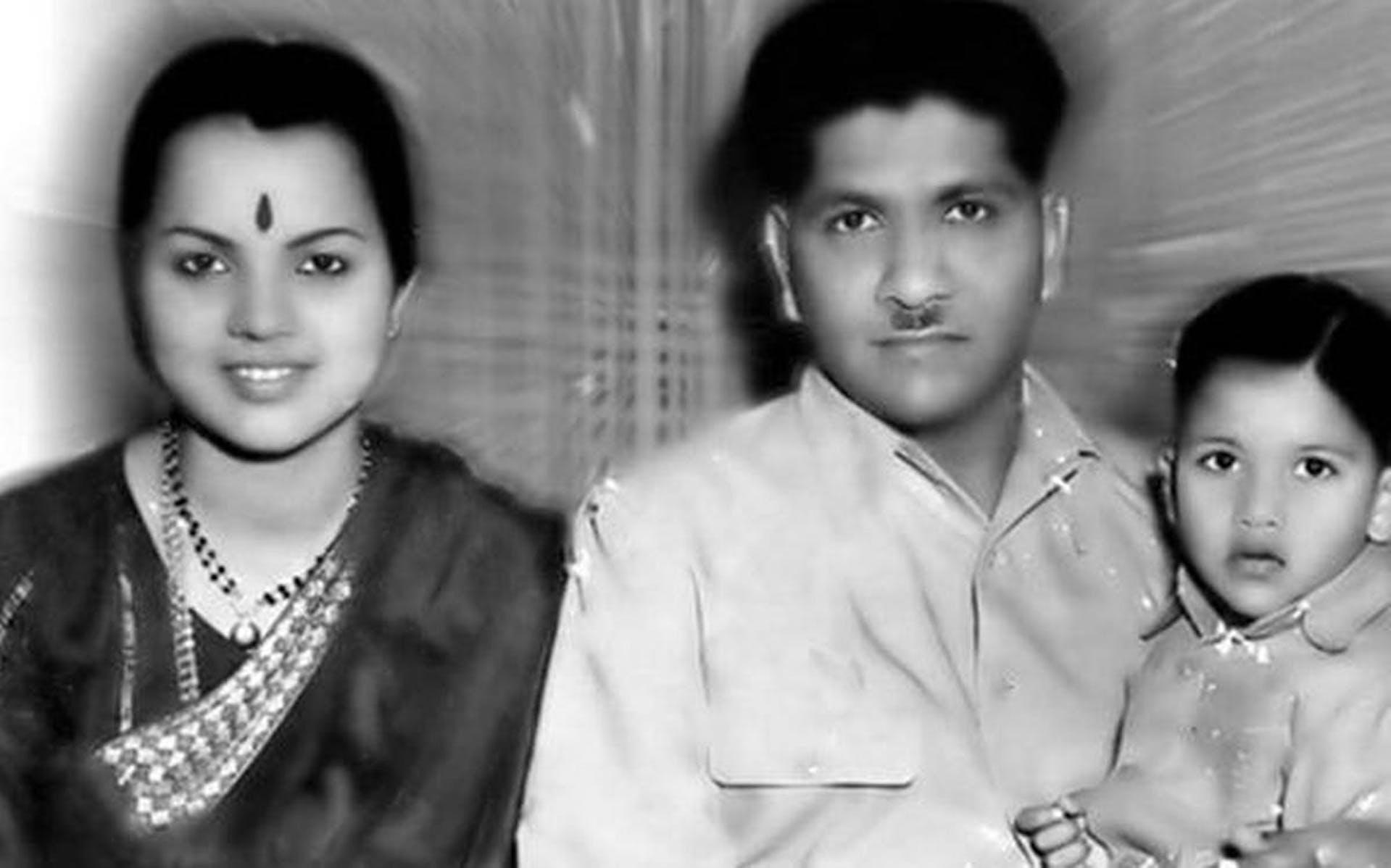 Pratima Devi, Shankar Singh and a young S.V. Rajendra Singh. Photograph by Chari; shot at Woodlands Hotel, Madras