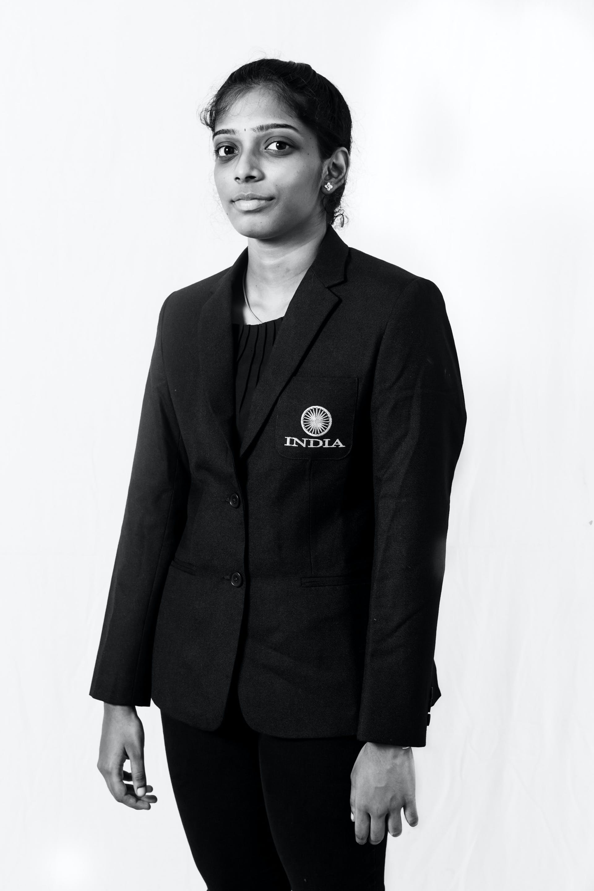 19-year-old Vaishali, Praggnanandhaa's sibling, achieved the third and final Woman Grandmaster norm at a tournament in Latvia in August 2018. Picture Credit: Harsha Vadlamani