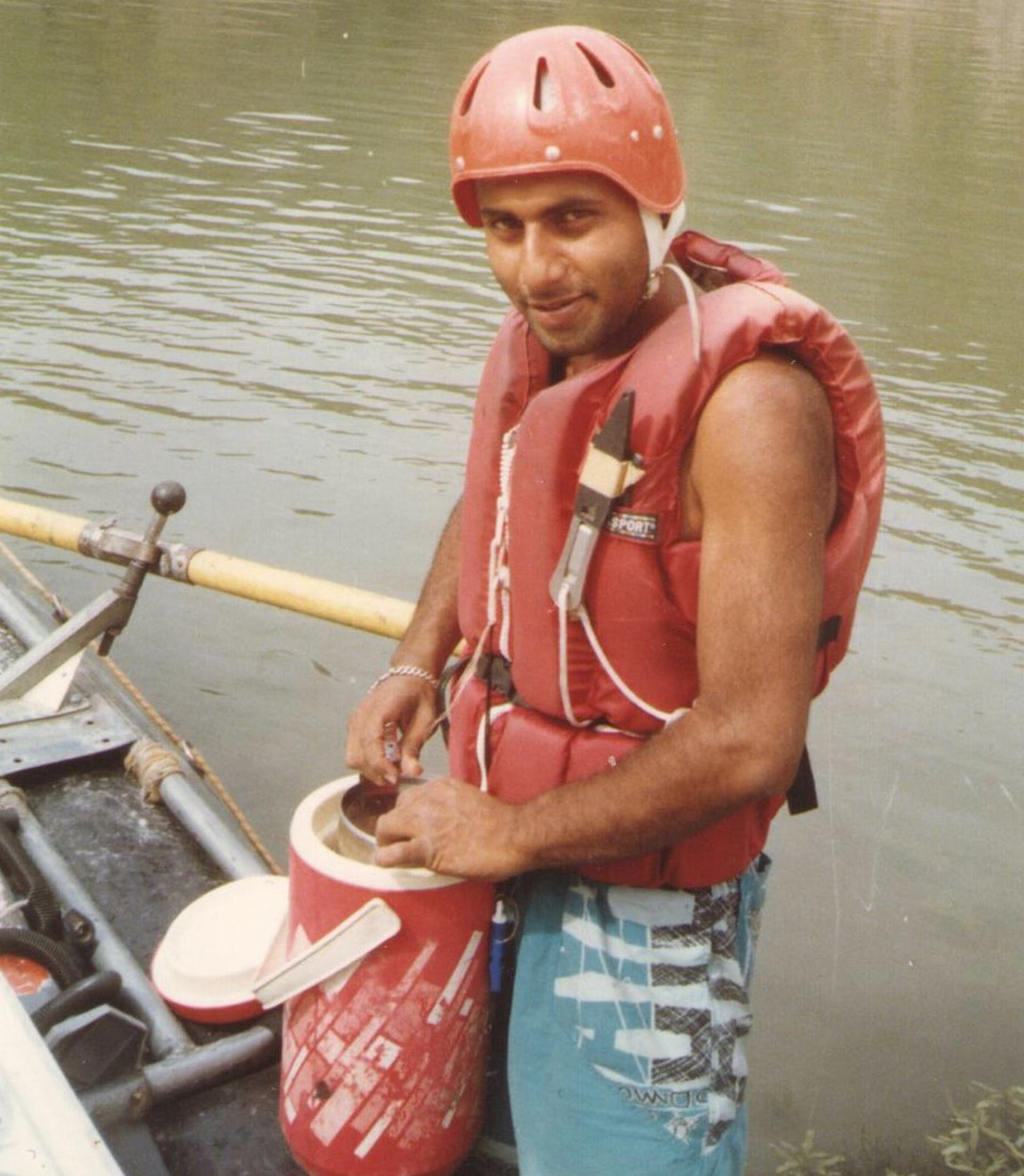 Akshay Kumar in 1990, a few months before the expedition. Courtesy: Salil Kumar