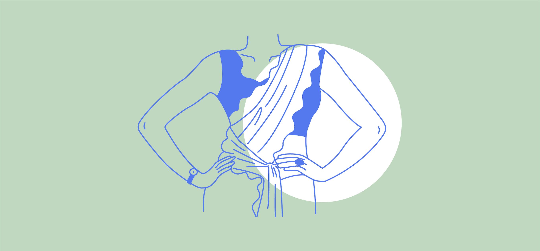 Borders by Saba Imtiaz; Ilustration by Akshaya Zachariah for FiftyTwo.in