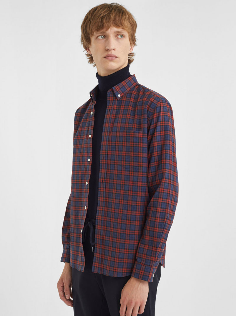 Chemises à carreaux