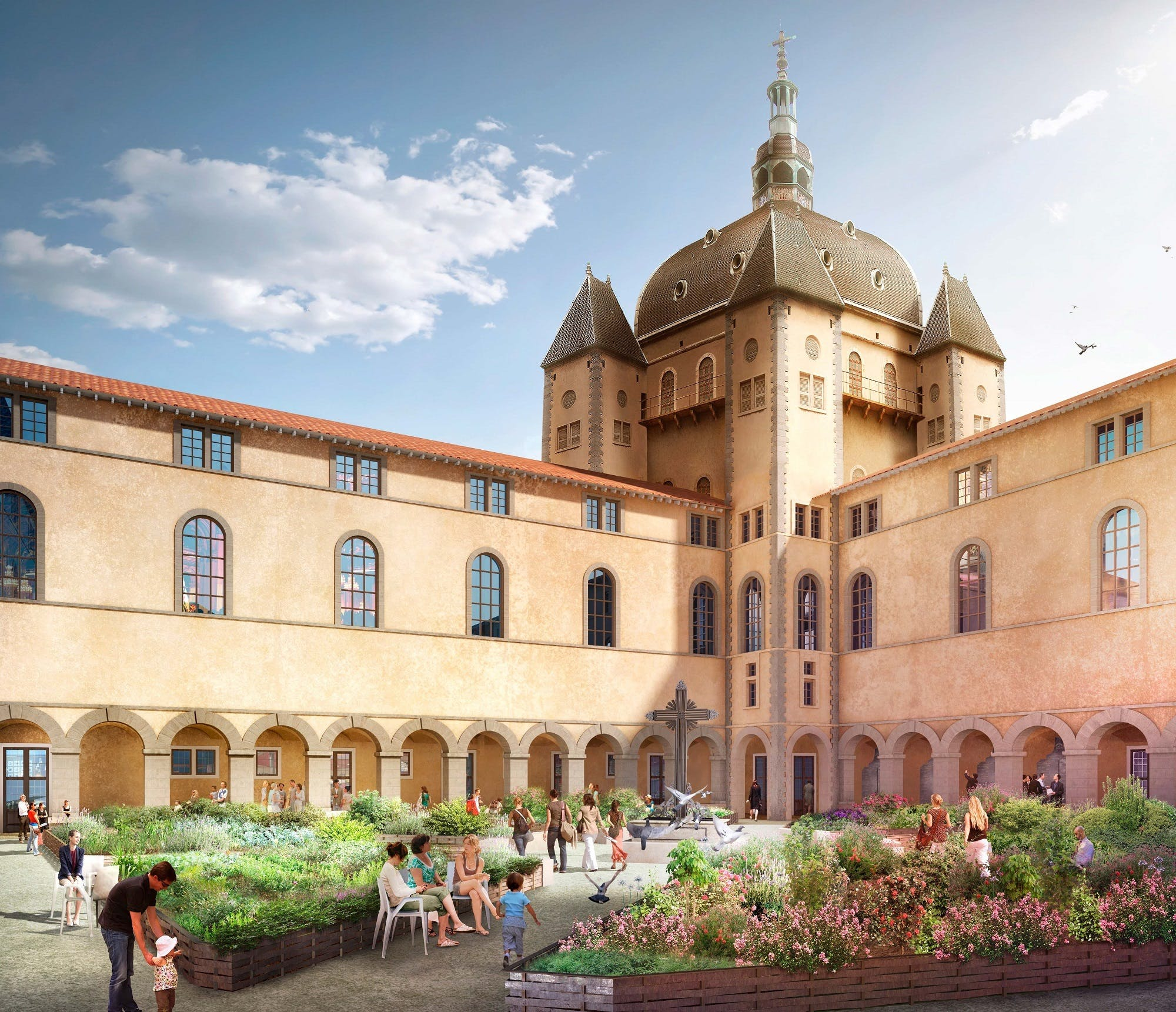 La seconde vie de l'Hôtel Dieu de Lyon