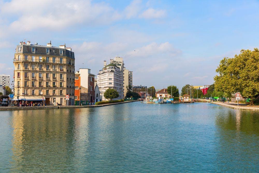 Vue du Canal de l'Ourcq