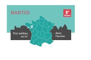 [Infographie] Prix de l'immobilier à Nantes