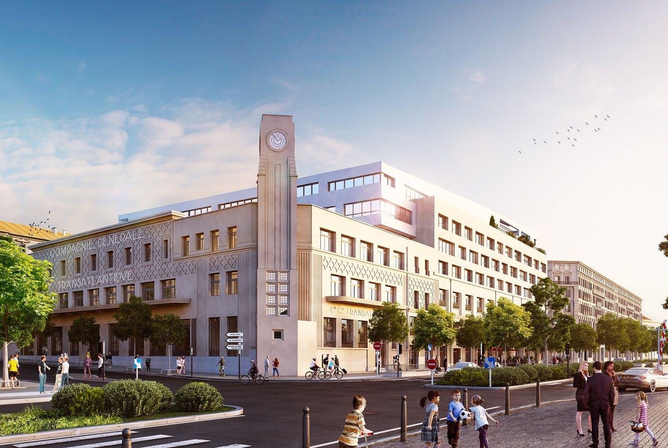 Le Castel : quand Marseille fait peau neuve avec d'anciens bâtiments
