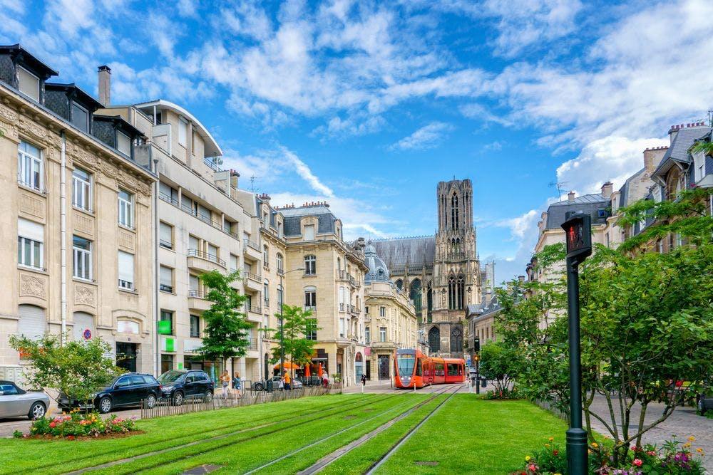 Vue de Reims