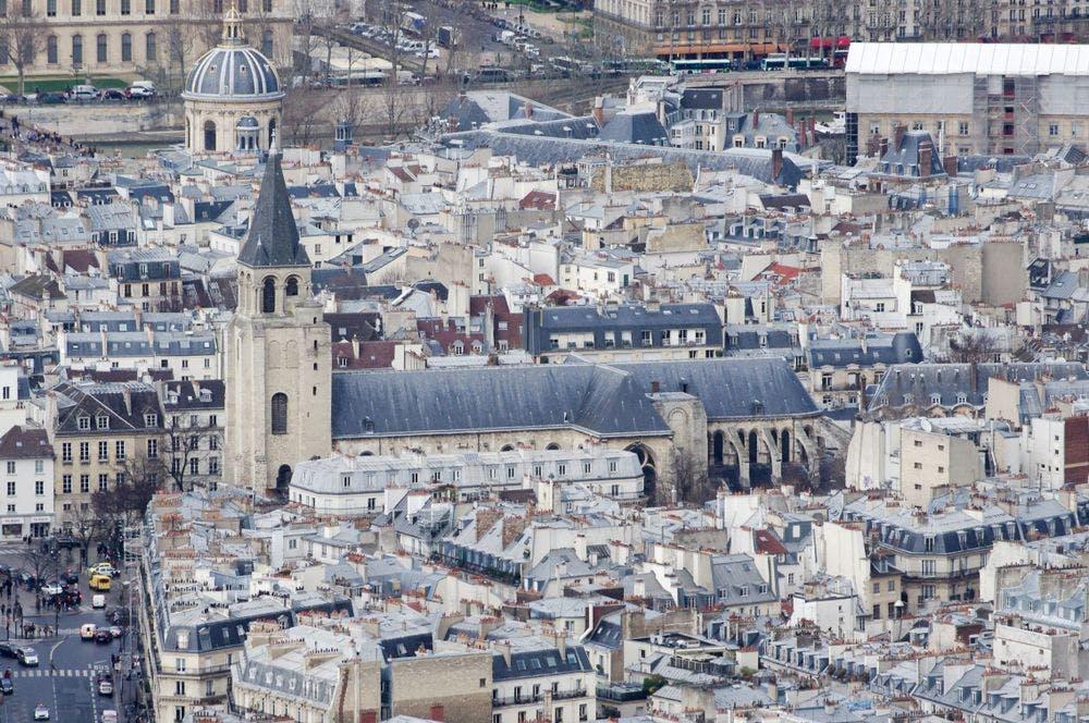 Vue Saint-Germain-des-Prés