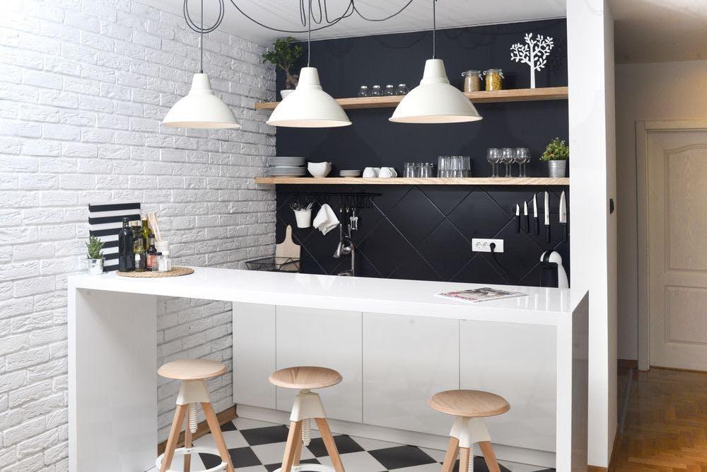 cuisine avec table