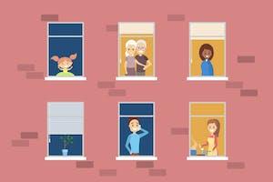 Mieux vivre avec vos voisins le confinement