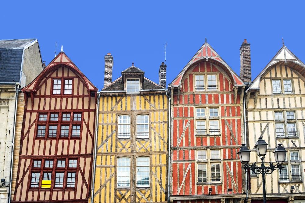 Vue de Troyes