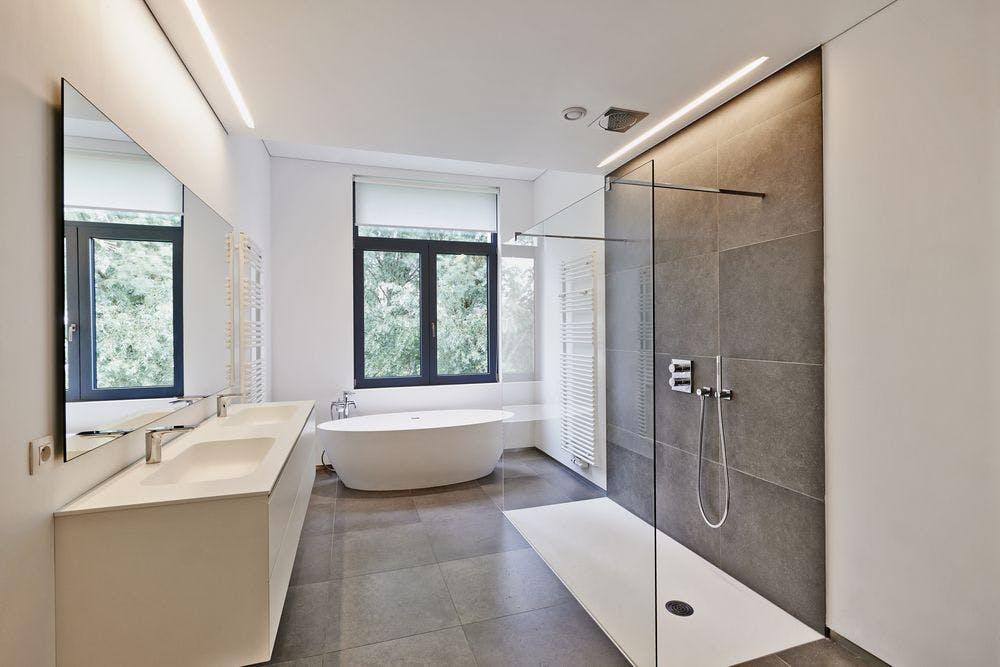 salle de bain rénovée