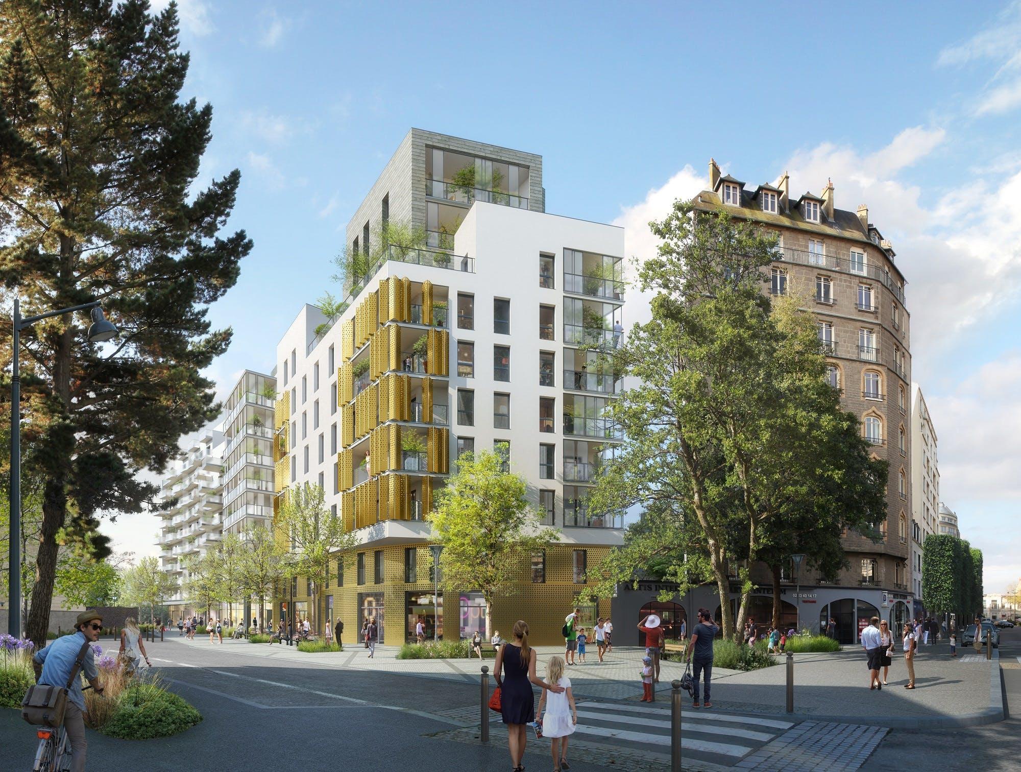 A Rennes, le siège du Crédit Agricole est remplacé par du logement