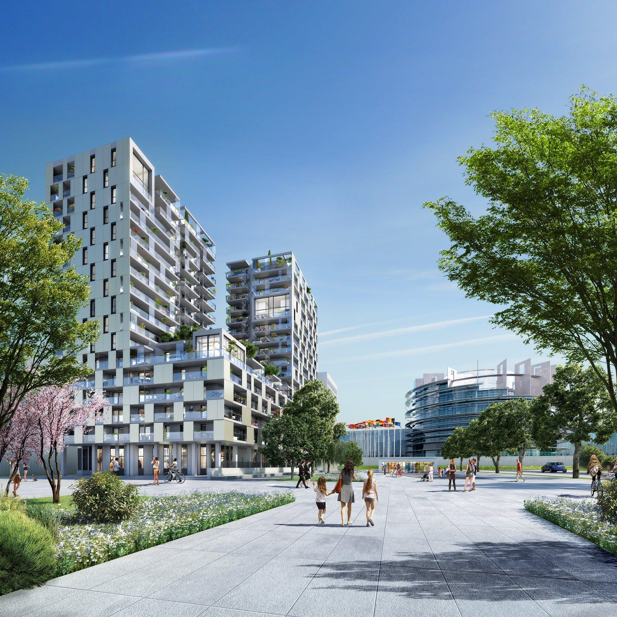 Sky Place, ou comment habiter dans le ciel strasbourgeois ?