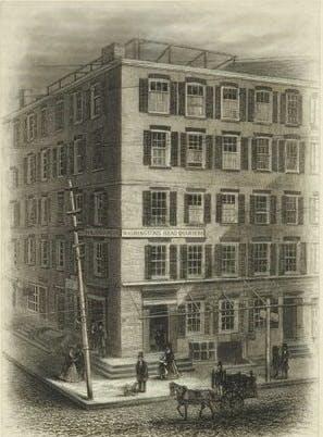 Fraunces Tavern, New York, 1800s.