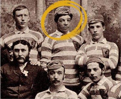 Andrew Watson, first Black British international footballer