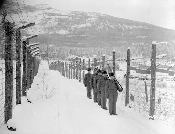 Canadian Prisoner of War camp