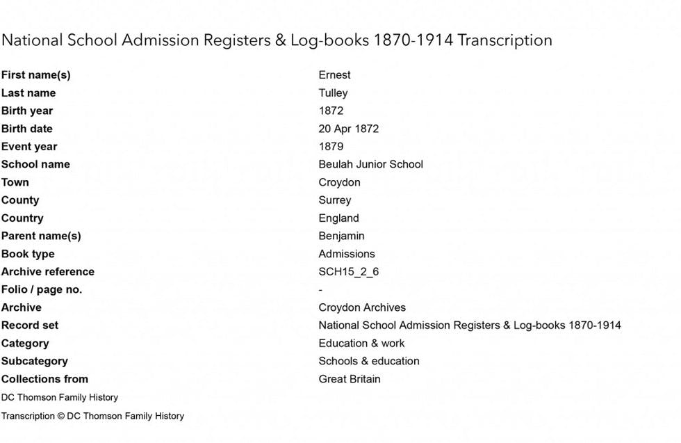 top-marks-how-i-discovered-my-south-london-ancestor-as-a-child-in-the--image