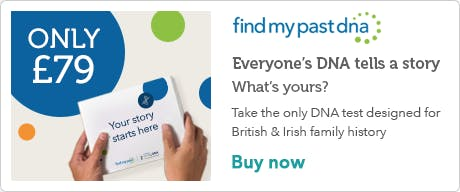 Findmypast DNA Banner