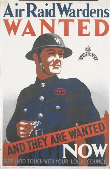 British Home Front recruitment poster
