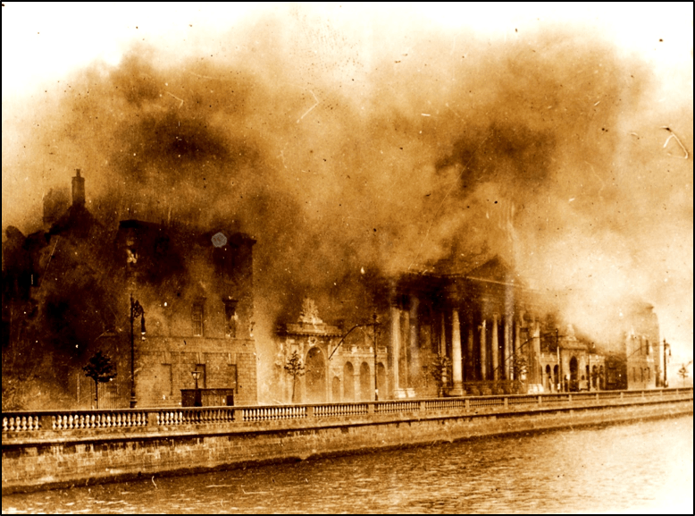 """Four Courts Conflagration"" 30 June 1922"
