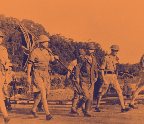 Fall of Singapore soliders