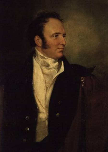portrait of George Bridgeman