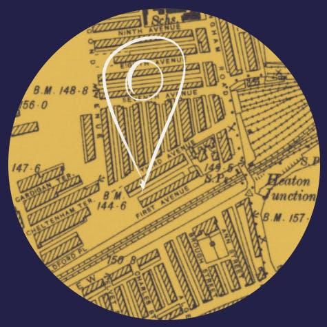 The history of Second Avenue, Heaton, Newcastle