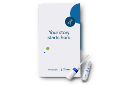 Findmypast DNA kit