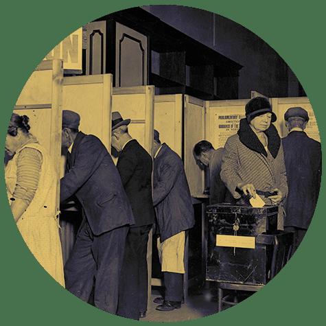 Voting registers online
