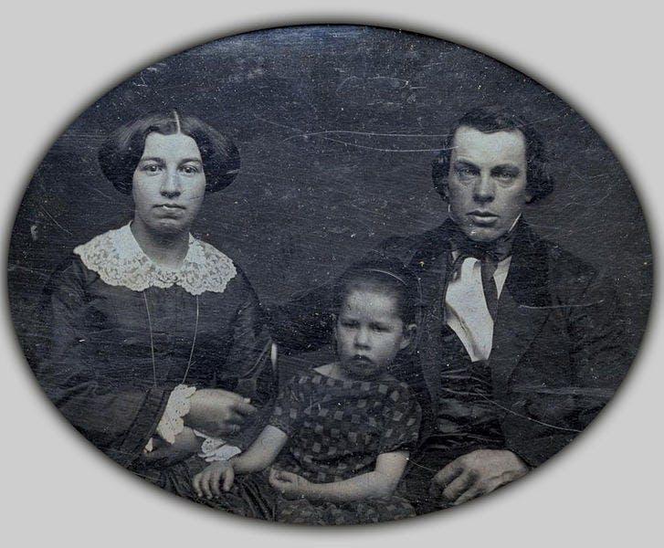 A rare daguerreotype