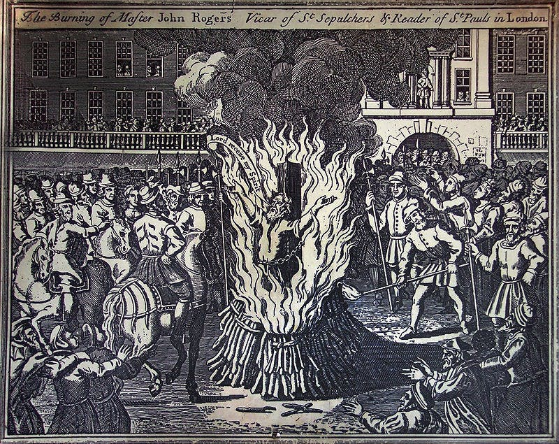 The Burning of John Rogers