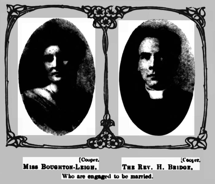 Horace and Elsie's marriage announcement in The Queen, 7 December 1912.