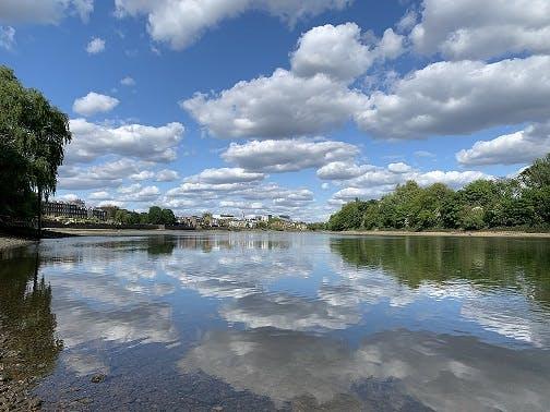 River Thames in Barnes