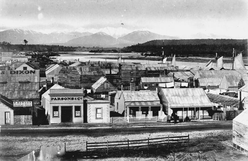 Hokitika, New Zealand, Gold Rush
