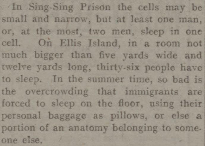 Ellis Island diary