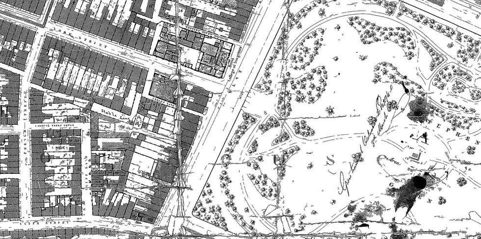 Griffith's Survey Maps & Plans, 1847-1864