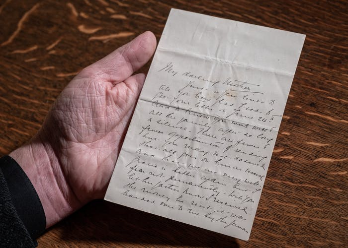 Edith Cavell's letters